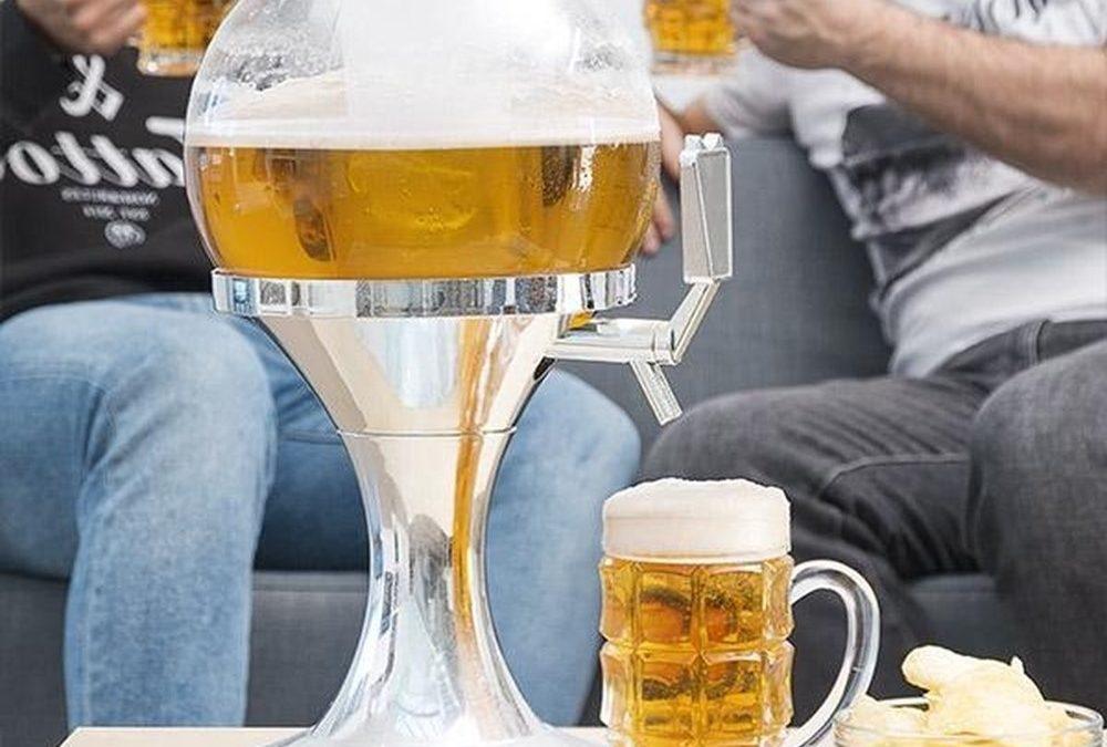 S domácou pípou Ball od InnovaGoods s chladiacim systémom sa budete cítiť ako profesionálny barman